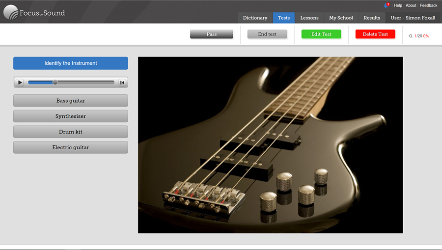 FoS Pro - Focus on Sound, Music Education Software