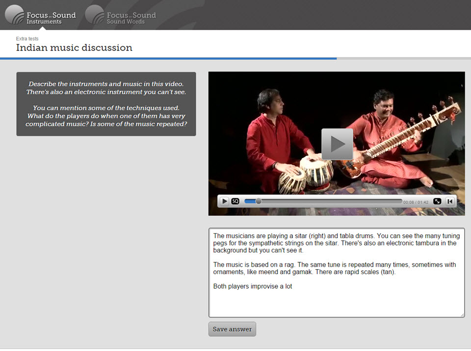 Music Education Software Online | Focus on Sound